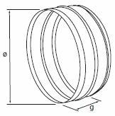 Łącznik do elastycznych przewodów aluminiowych Flex_rystech