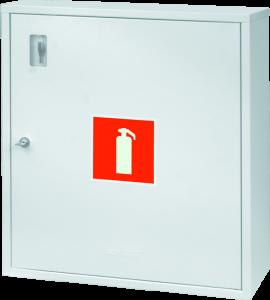 Шкафчики для огнетушителей